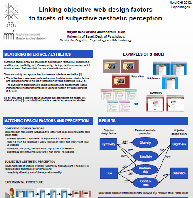 Linking objective web-design factors to facets of subjective aesthetic perception